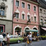 Altes Foto der Löwen Apotheke, Straubing